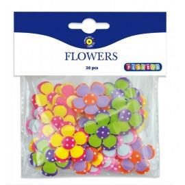 Set 20 flori autoadezive