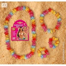 Set Hawaii multicolor- Accesorii carnaval