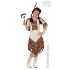 Costum carnaval copii - Fetita Indianca