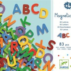 83 Litere magnetice- Djeco