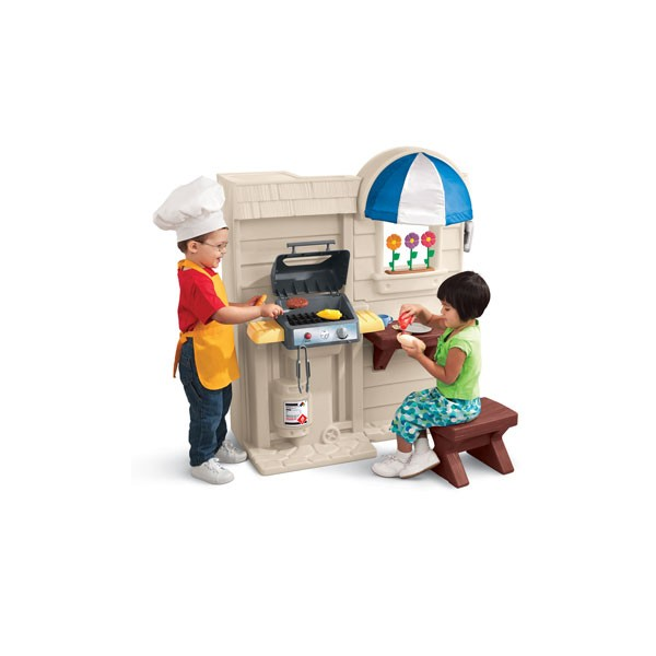 Little Tikes - Bucatarie interior / exterior (Inside Outside Cook n Grill Kitchen)
