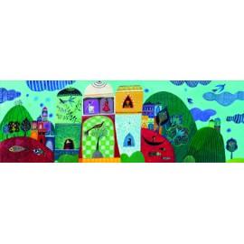Puzzle Djeco Visul Aureliei 500 Piese imagine