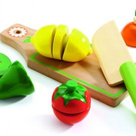 Fructe și legume de feliat Djeco