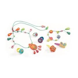 Set bijuterii Djeco, perle de rouă