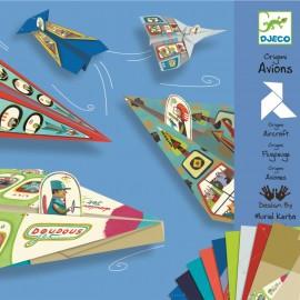 Origami avioane Djeco