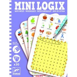 Mini logix Djeco găsește cuvintele