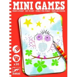 Mini games Djeco desenează punct cu punct