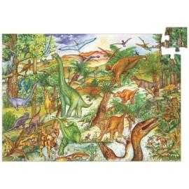 Puzzle observație Djeco Dinozauri