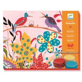 Atelier de pictură pentru copii Sacha's Garden Djeco