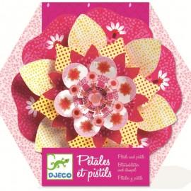 Petale și pistiluri roz decor Djeco