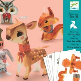 Animale jucării din hârtie Djeco