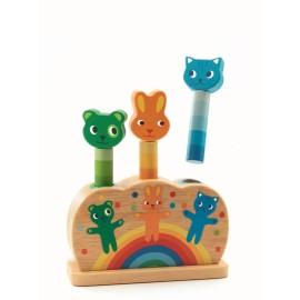 Pop up jucărie motorică Djeco