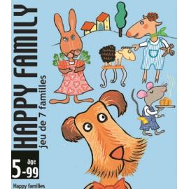 Joc de cărţi Djeco Happy family