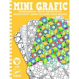 Mini grafic Djeco Abstract