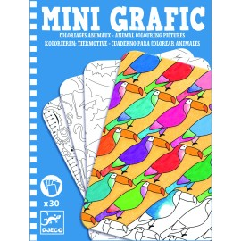 Mini grafic Djeco Animale