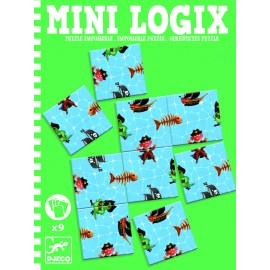 Mini logix Djeco puzzle imposibil pirați