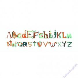 Abțibilduri De Perete Litere Băieți Djeco imagine