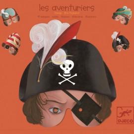 Măşti de Carnaval/ Halloween- Djeco Aventurieri