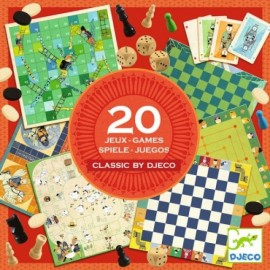 Colecția Djeco - 20 Jocuri Clasice imagine