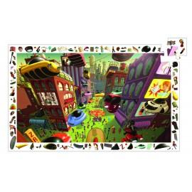 Puzzle observație Djeco Orașul viitorului