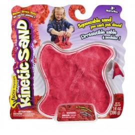 Nisip Kinetic Colorat - Rosu 397 G - Kinetic Sand imagine