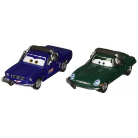 Disney Cars 2 - Brent Mustangburger si David Hobbscap