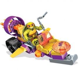 Testoasele Ninja Vehicule Si Figurine - Mikey Jet Cruiser - Mega Bloks imagine