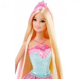 Regatul parului fara de capat - Barbie Printesa Roz
