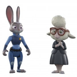 Judy Hopps si May Bellwether - Figurine Zootropolis