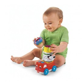 Fisher-Price Brilliant Basics Shake & Stack Firetruck