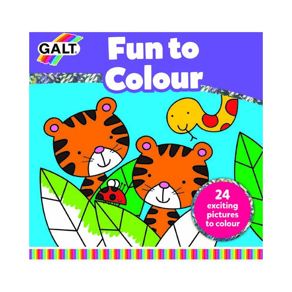 Carte de colorat fun to colour