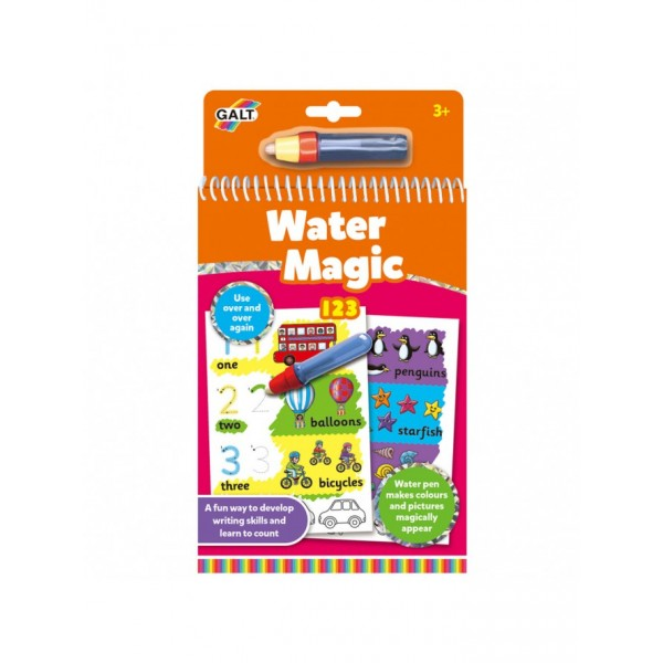 Carte de colorat 123 Water magic