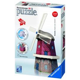 Puzzle 3d moara de vant 216 piese
