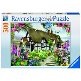 Puzzle cabana 500 piese
