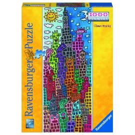 Puzzle cladiri amuzante 1000 piese