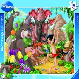 Puzzle mowgli si baloo 30 piese