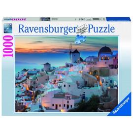 Puzzle noaptea in santorini 1000 piese