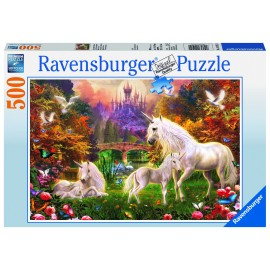 Puzzle unicorni 500 piese