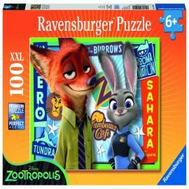 Puzzle zootopia 100 piese