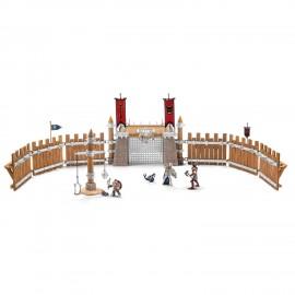 Set Figurine Schleich Arena De Lupta Cu Accesorii Eldrador 42273 imagine
