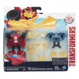 Transformers  set figurine mini con