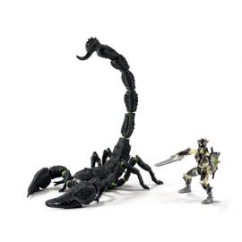 Figurina schleich scorpion cu luptator eldrador 70124