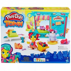 Play Doh town set magazinul de animalute
