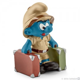 Jungle smurf, explorer schleich20780