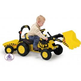 Tractor excavator cu remorca TOONY TRAC (INJ410)