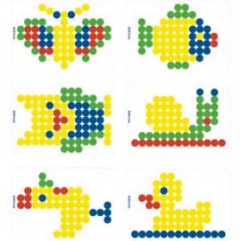 Set Scolar 6 modele mozaic 20 - Miniland