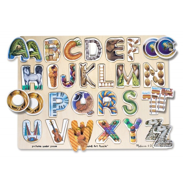 Puzzle Alfabet Art - Melissa and Doug
