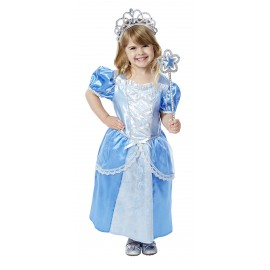Costum de carnaval Printesa Blue - Melissa and Doug