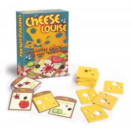Observa si potriveste Cheese Louise - Fat Brain Toys