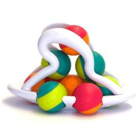 Jucarie Distractiva Cu Bile Rollio - Fat Brain Toys imagine